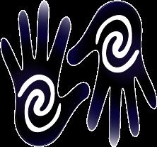 the healing hands logo